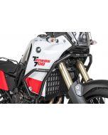 Stainless steel fairing crash bar, black Yamaha Tenere 700