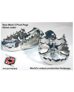 Pivot Pegz - *Mark3* for BMW R1200GS up to 2012/ R1200GS Adventure up to 2013