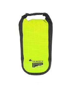 Additional bag High Visibility, size S, 2 litres, yellow/black, by Touratech Waterproof made by ORTLIEB