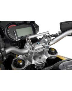 GPS Handlebar Bracket Adapter for handlebar riser 20 mm BMW F850GS / F850GS Adventure GPS Bracket Adapter/Bracket for Navigation Systems