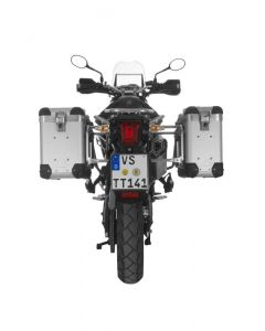 ZEGA Pro2 aluminium pannier system for Triumph Tiger 800/ 800XC/ 800XCx